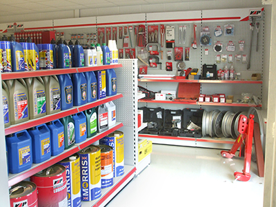 Denleys Agricultural spare part shop